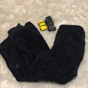 Boys black old navy black pants size 3t
